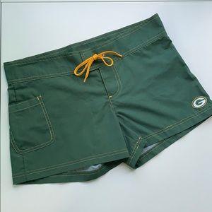 GB Packers Women's Shorts